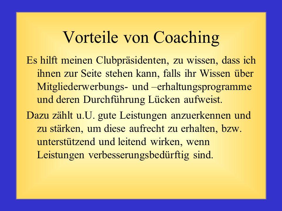 Definition Coaching ist das Begleiten und Motivieren von Personen, damit diese zur Erreichung spezifischer Ziele ihr volles Potenzial nutzen.