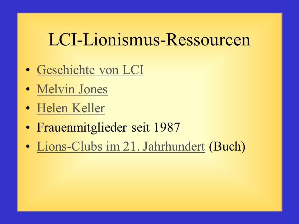 LCI-Zonen-Ressourcen LCI-Veröffentlichungen auf der Website www.lionsclubs.org www.lionsclubs.org Handbuch für Clubamtsträger (LA-15) Handbuch für Zon