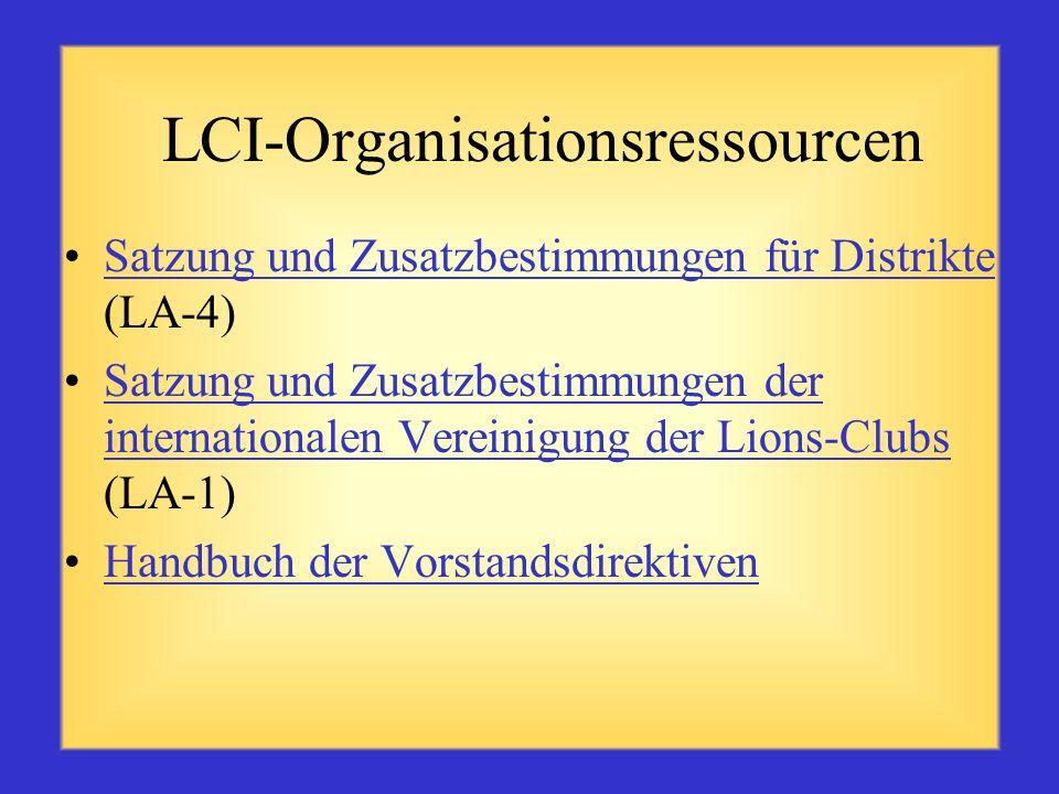 LCI-Mitgliedschaftsressoucen Drei-Personen-Mitgliedschaftsausschuss (ME29) Bürgschaft ist eine wichtige Verantwortung (ME21)Bürgschaft ist eine wichti