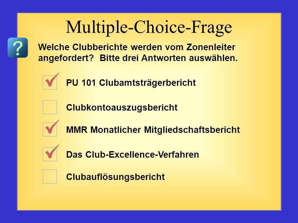 Wie schneidet Ihr Club ab? MMR – Monatlicher Mitgliedschaftsbericht Retentions-Kampagne des Präsidenten Das Club-Excellence-Verfahren Bürgschaft ME 21