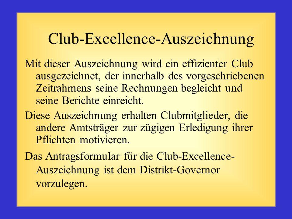 Machen Sie sich mit Ihren Clubs vertraut Sprechen Sie mit Ihrem Vorgänger oder Ihrem Distrikthistoriker über die Geschichte Ihrer Clubs sowie besonder