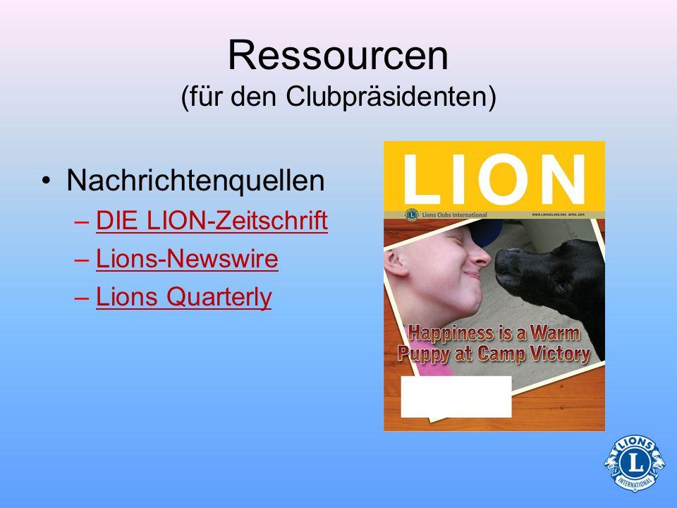 Ressourcen (für den Clubpräsidenten) LCIF (Lions Clubs International Foundation)LCIF –Sehen Sie sich die Informationen über LCIF an und kennen Sie sic