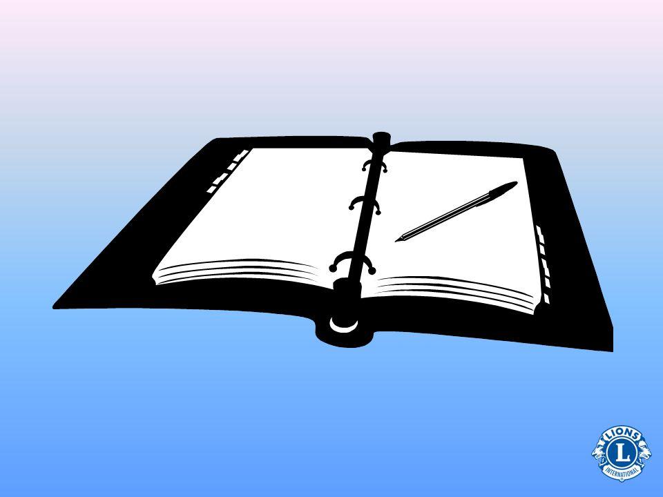 Quiz zu Clubtreffen Neue Geschäfte SchatzmeisterberichtOrdnungsaufruf Lesen des Sitzungsprotokolls Vorgesehenes Programm Geben Sie an, ob jeder Punkt