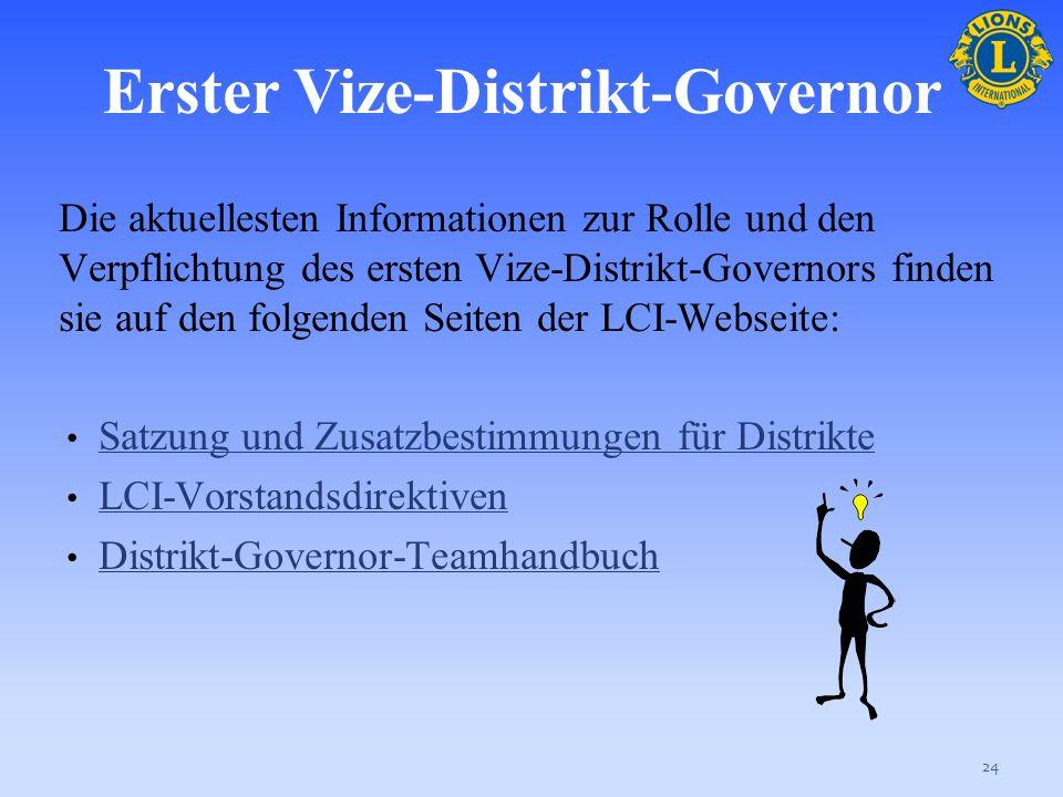 Überblick über die verschiedenen Verpflichtungen: Teilnahme an Kabinettversammlungen; Übernahme des Vorsitzes bei Versammlungen, falls der Governor ab