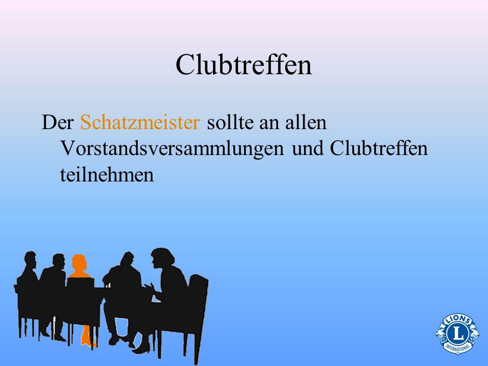 Wer gehört zum Vorstand? Zum Vorstand gehören die folgenden Mitglieder: Clubpräsident, Letztjähriger Präsident, Vizepräsident(en), Sekretär, Schatzmei