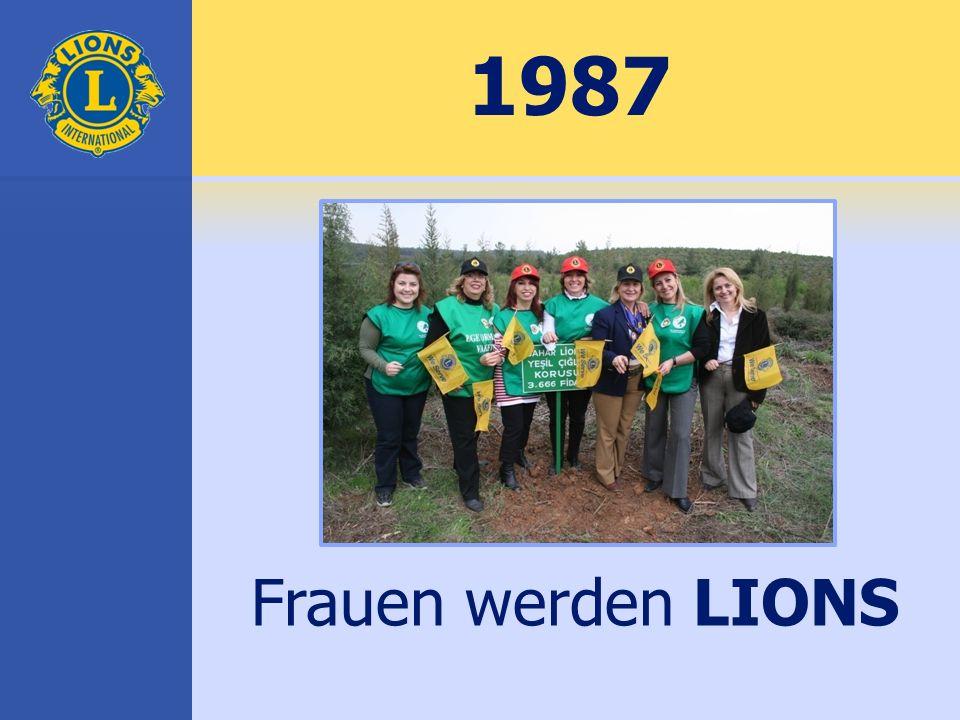 1987 Frauen werden LIONS