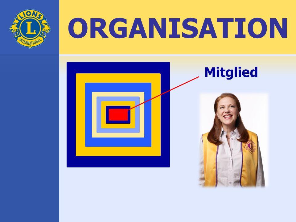 ORGANISATION Mitglied