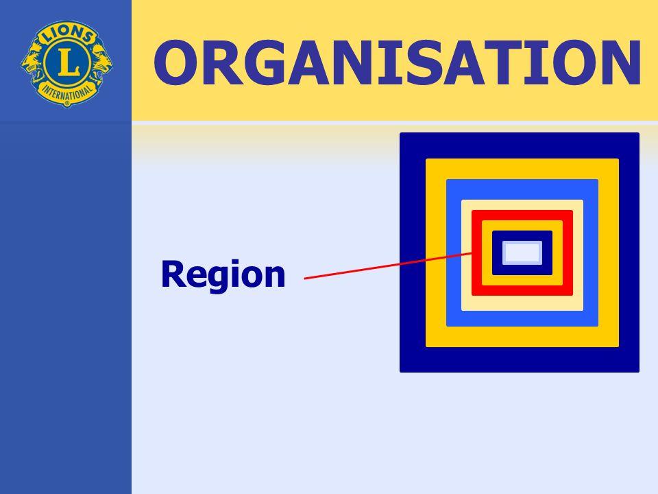 Region ORGANISATION