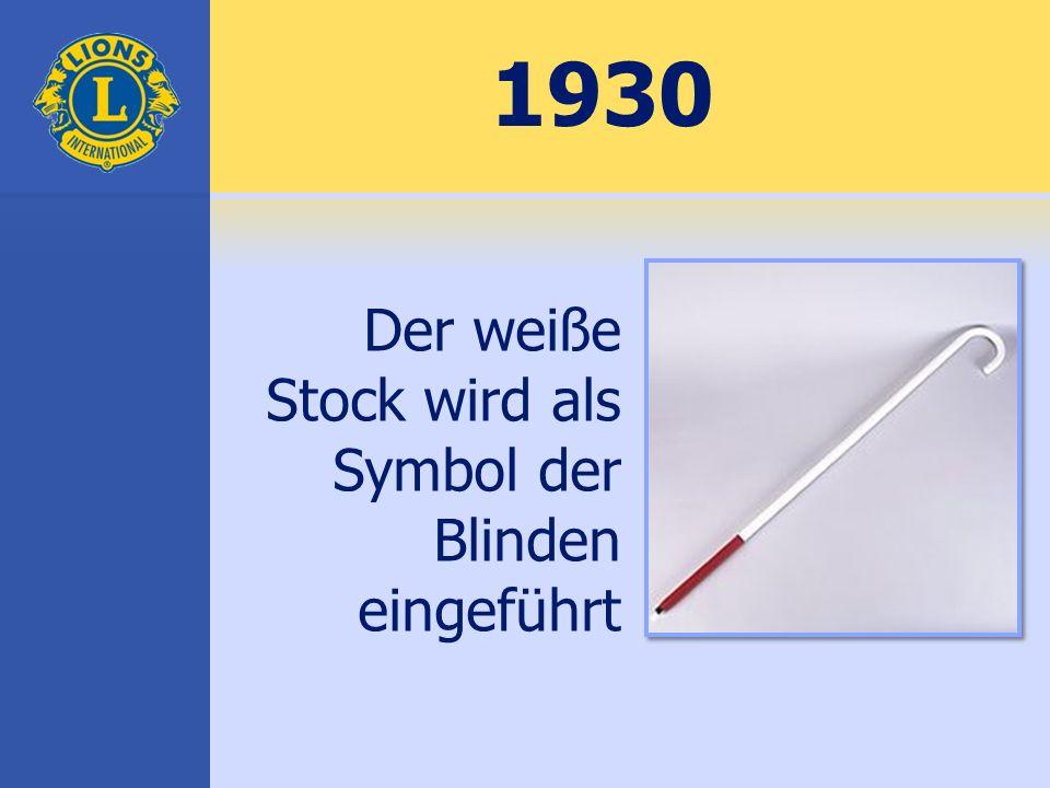 Wir dienen wird zum offiziellen Motto von LCI 1954
