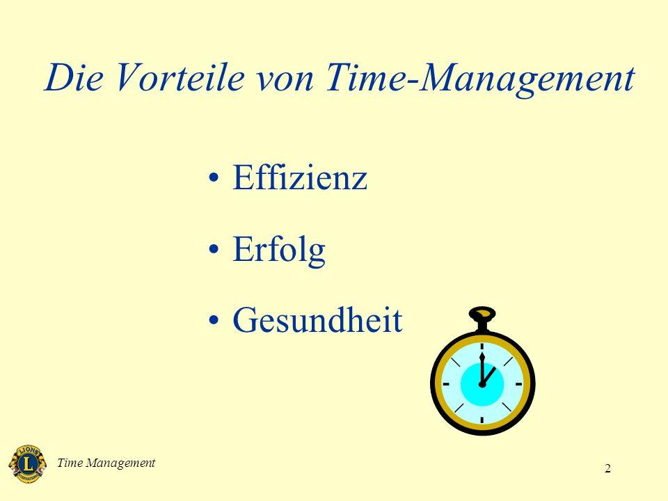 Time Management 3 Die Hürden effektiven Time-Managements unklare Ziele Unordnung nicht Nein sagen können