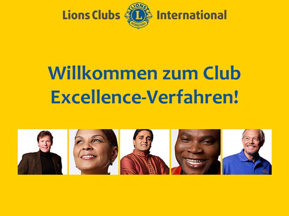 Willkommen zum Club Excellence-Verfahren!
