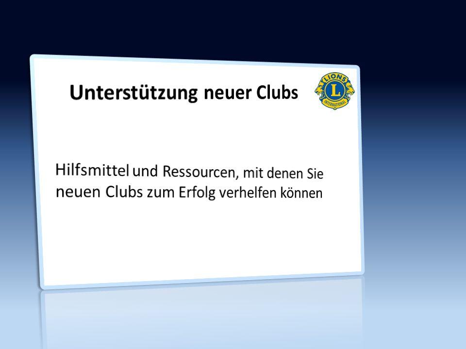 Gut aus den Startlöchern kommen Gründungsfeier Schulung der Amtsträger des neuen Clubs Mitglieder-Orientierung