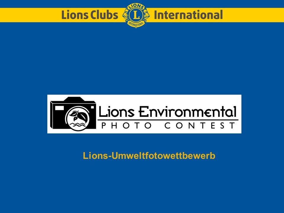 Lions-Umweltfotowettbewerb