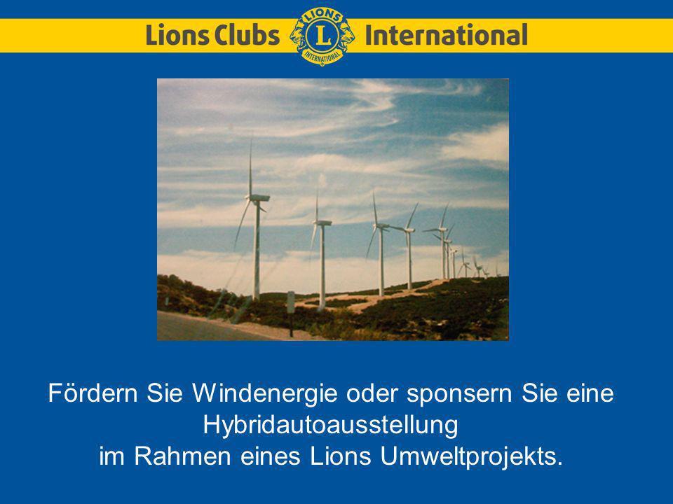 Senden Sie ein Foto für den Lions-Umweltfotowettbewerb ein.
