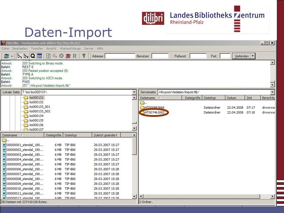 Daten-Import