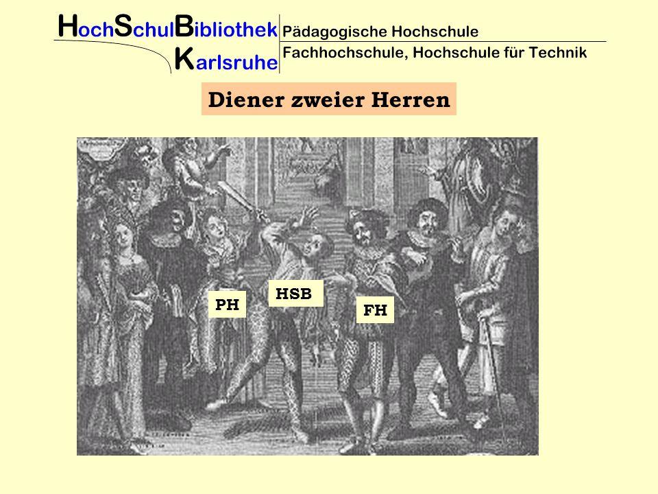 Diener zweier Herren PH FH HSB