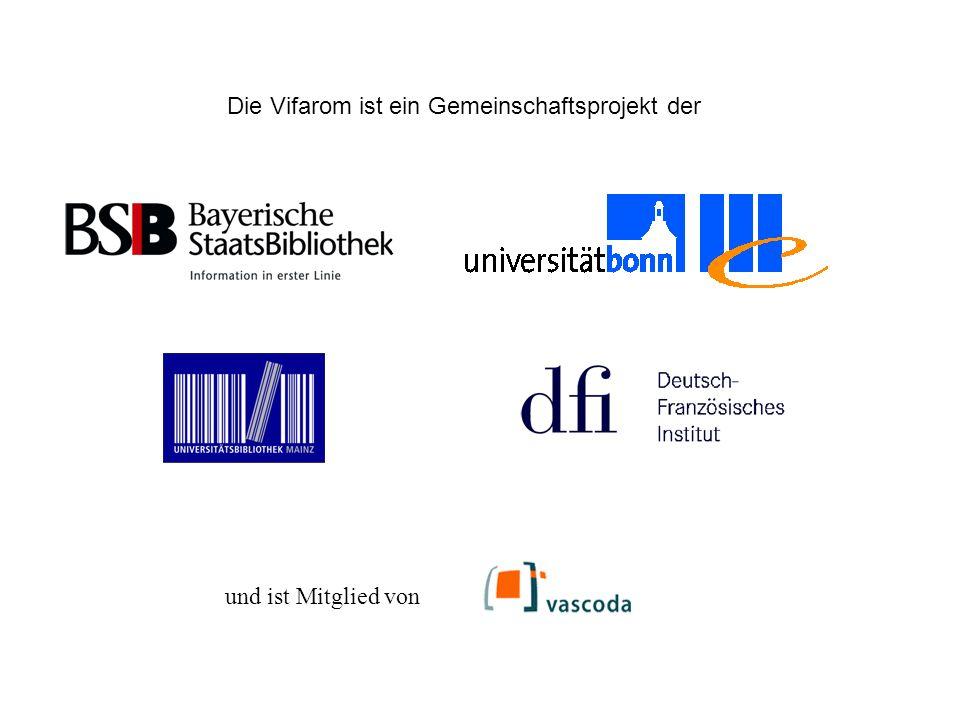 Die Vifarom ist ein Gemeinschaftsprojekt der und ist Mitglied von