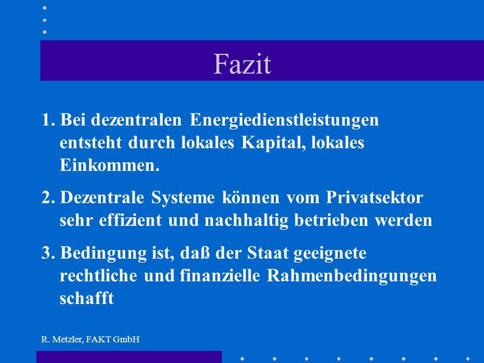 R. Metzler, FAKT GmbH Piluwa Khola Hydropower Plant Installierte Leistung 3.400 kW Druckrohrleitung: Stahl: Durchmesser 1,6 m Länge 3.300 m Investitio
