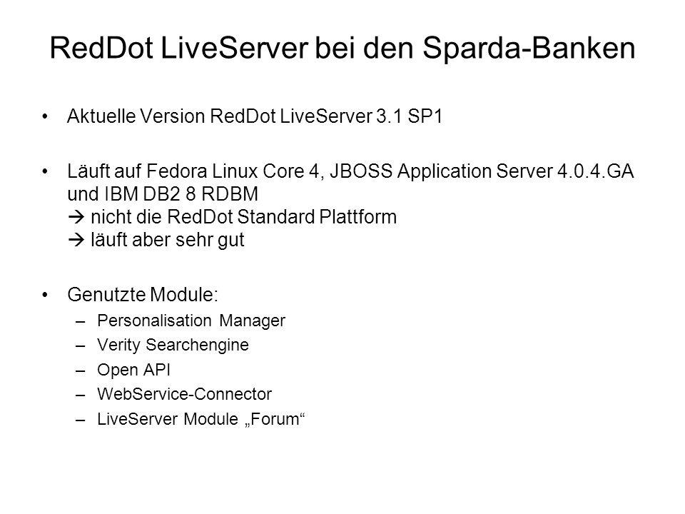 LMS – LiveServer Forum Integration Das RedDot LiveServer Forum besteht aus zwei Projekten, eines für die Anwendungslogik, eines für die Inhalte.