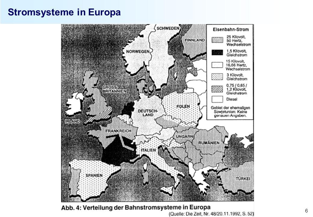 2008 Sebastian Kummer 7 Spurweiten und Stromsysteme im weltweiten Vergleich Spurweiten Spurweite (mm)Länder Nettoanteil in % am Weltschienenver- kehrsaufkommen 1.435 (Normalspur) Berner Abkommen 1886, Stephenson EU25 (ohne E, P, FIN, EST, LT, LV, IRL), Türkei, Rumänien, Bulgarien, China 64,36 1.525 (Breitspur)FIN, EST, LT, LV, Belarus, RUS, Moldawien, Ukraine, Iran 11,18 1.067Japan, Australien, Chile, etc.7,65 1.000Brasilien, Indien7,46 Systemspezifikation Länder 1,5 kV DCSüdfrankreich, NL 3 kV DCB, SLO, I, PL, teilweise in CZ, SK, CR 15 kV, 16 2/3 Hz ACDeutschland, Österreich, Schweiz 25 kV, 50 Hz AC (Industrie)Nordfrankreich, GB, H, DK, FIN, Indien, China, etc.