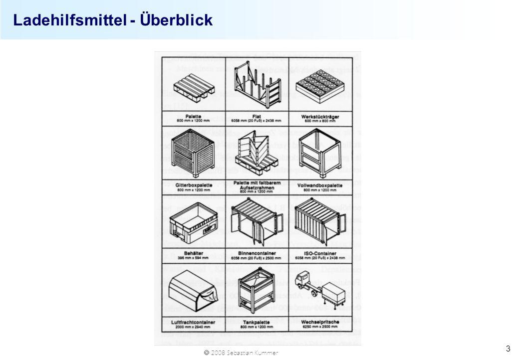 2008 Sebastian Kummer 3 Ladehilfsmittel - Überblick
