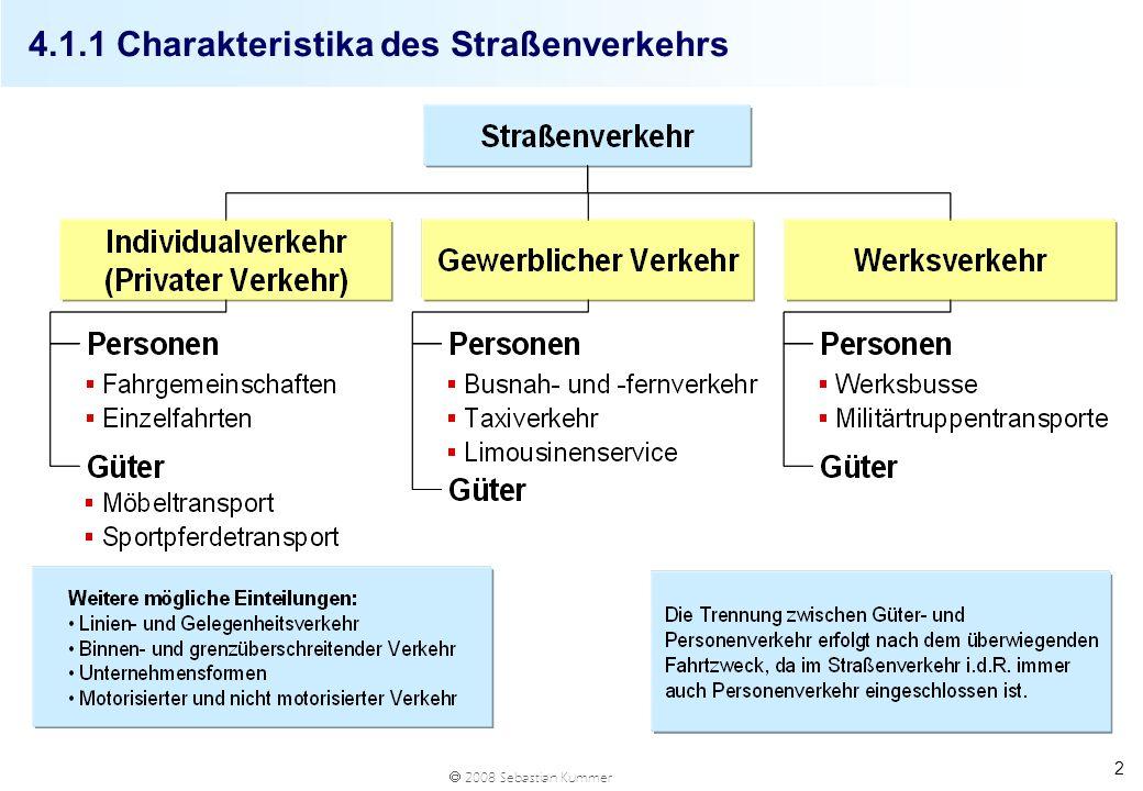 2008 Sebastian Kummer 23 4.1.4 Ausflaggung im Straßengüterverkehr Fuhrpark und Flotte bezeichnen i.