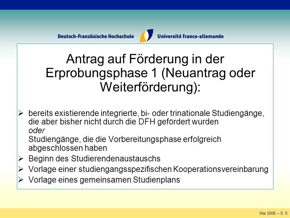 Mai 2008 – S.60 Fachsprachliche Vorbereitung Fachsprache Verwendung .