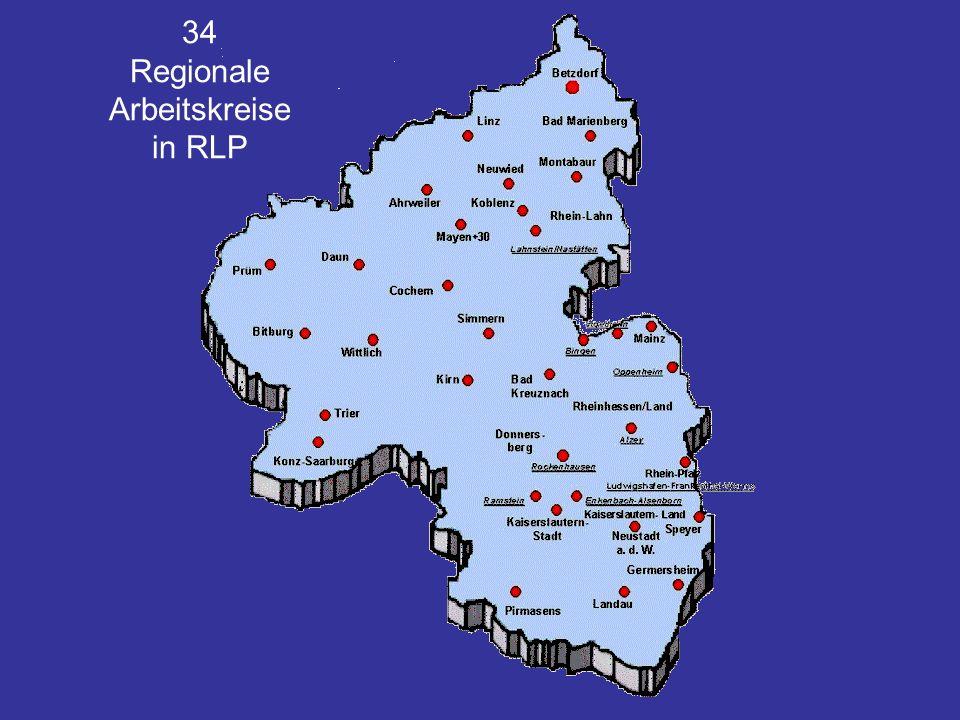 34 Regionale Arbeitskreise in RLP