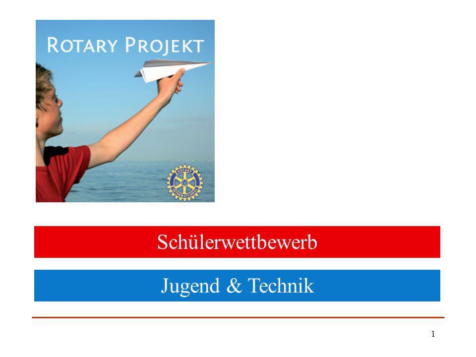 1 Schülerwettbewerb Jugend & Technik