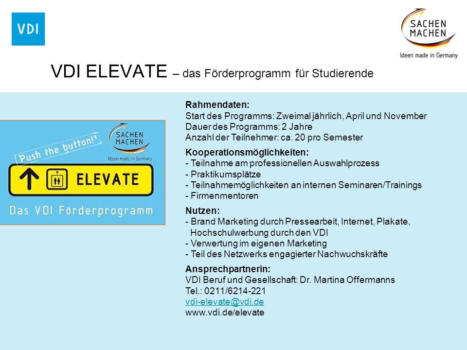Rahmendaten: Start des Programms: Zweimal jährlich, April und November Dauer des Programms: 2 Jahre Anzahl der Teilnehmer: ca. 20 pro Semester Koopera