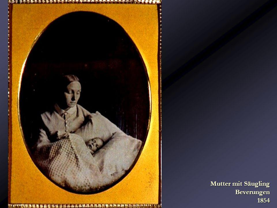 Mutter mit Säugling Beverungen 1854