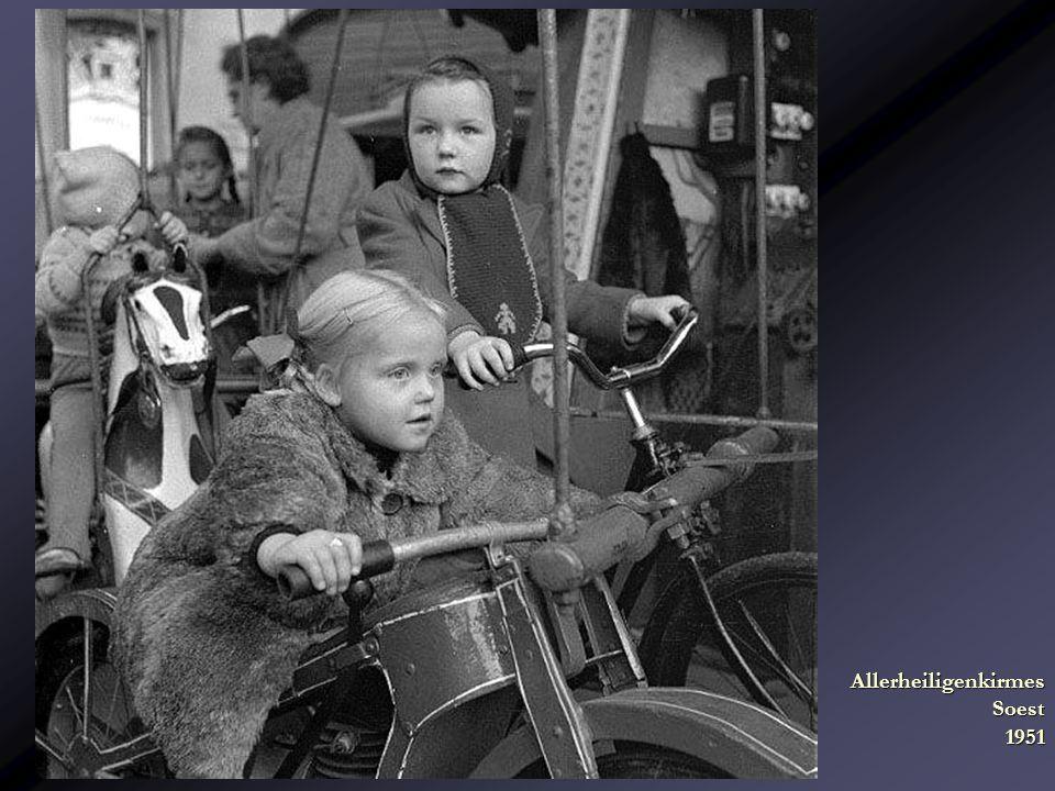 Allerheiligenkirmes Soest 1951