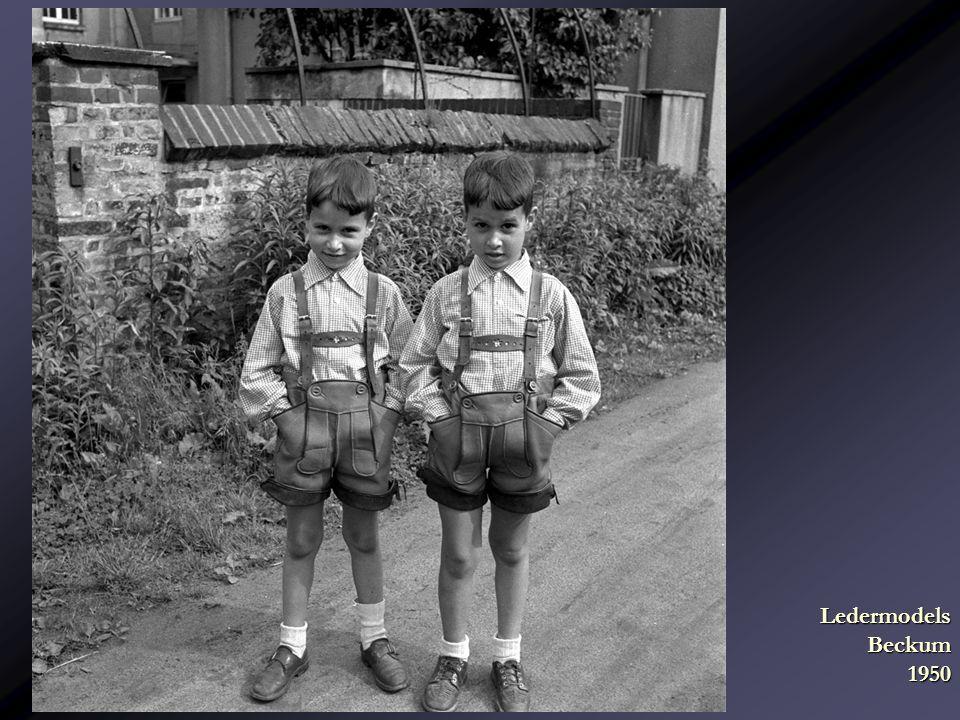 Ledermodels Beckum 1950