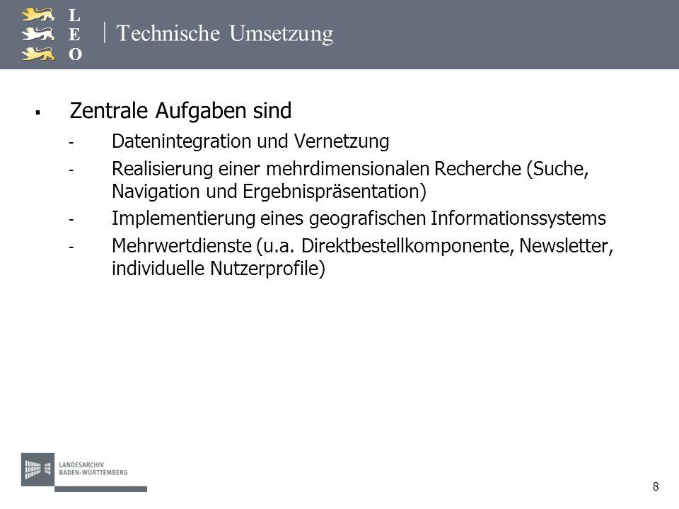 | LEOLEO 19 Das vernetzte landeskundliche Informationssystem Beispielhafte Suche nach Friedrich Weinbrenner Beispielhafte Suche nach Friedrich Weinbrenner Weinbrenner, Friedrich