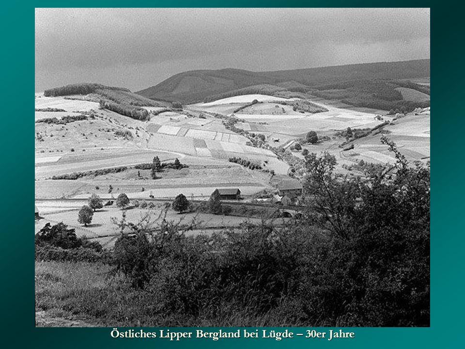 Östliches Lipper Bergland bei Lügde – 30er Jahre