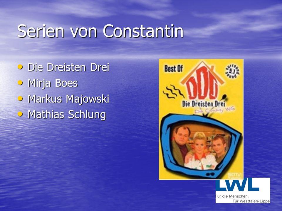 Comedy von Constantin Hausmeister Krause Hausmeister Krause Mit Tom Gerhart Mit Tom Gerhart Axel Stein Axel Stein Und der DD Und der DD
