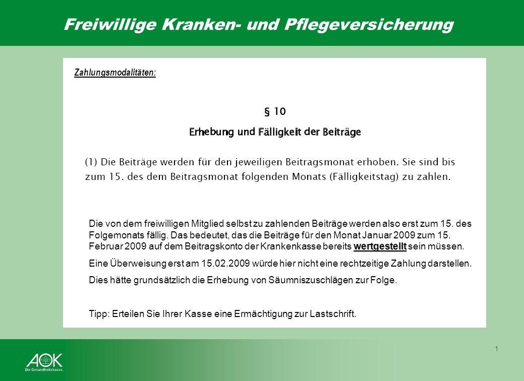 Wahlmöglichkeiten Beispiel: Frau Mustermann ist seit Jahren gesetzlich familienversichert über Ihren Ehemann bei der BKK Far-far-away. Ab dem 01.02.20