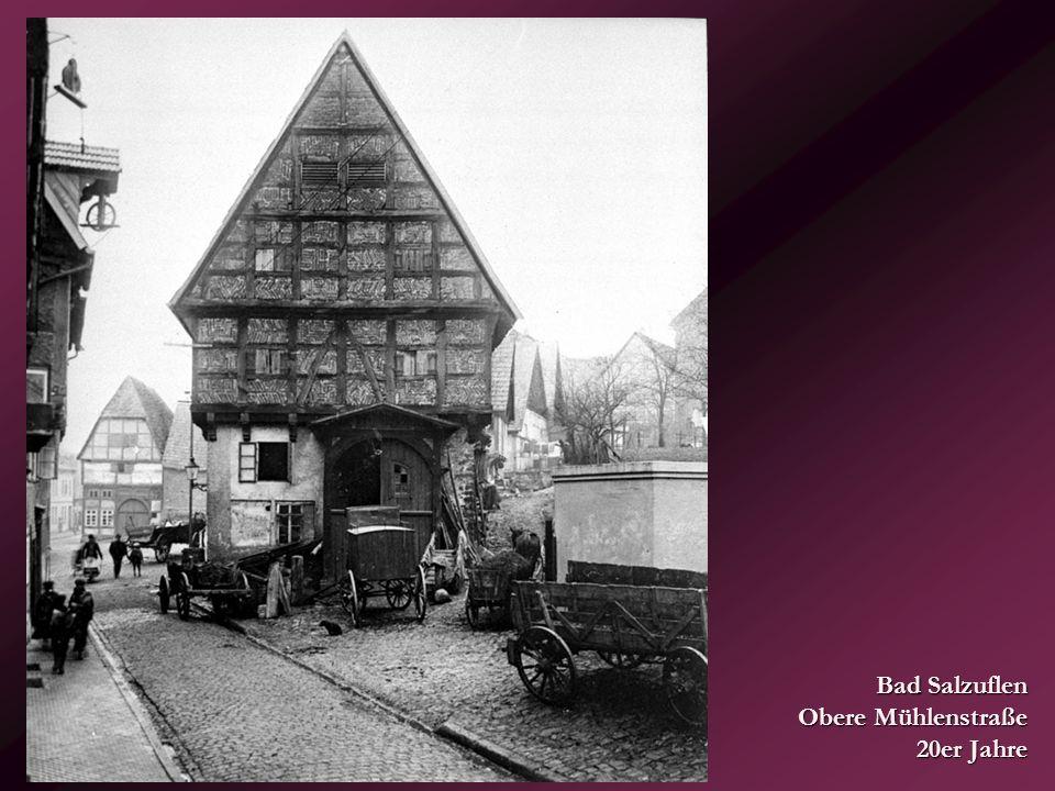 Wetter – Aktienstraße mit Schlagbaum... 1915