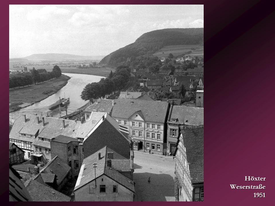 Bad Driburg – Lange Straße... 30er Jahre