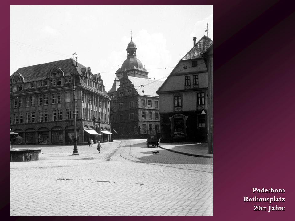 Warstein – Hochstraße... um 1930