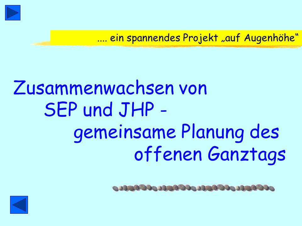 ... trotzdem Vorhergegangene Erfahrung: Beteiligung der JHP an der SEP in Minden 1998 - 2001 Bildungsnetz Minden (Bertelsmannstiftung) JHP beteiligt a