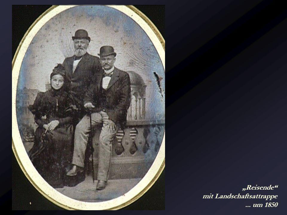 Herrenrunde... um 1850