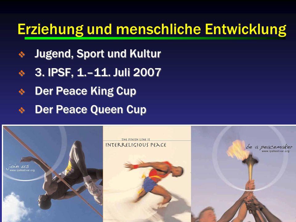 Jugend, Sport und Kultur Jugend, Sport und Kultur 3.