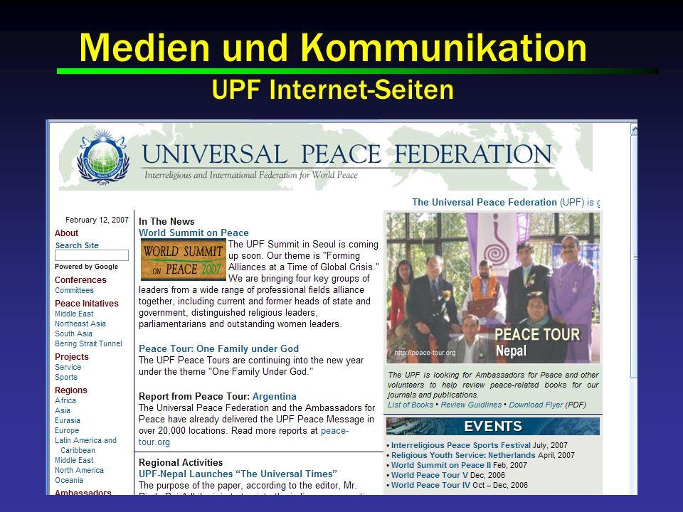 Medien und Kommunikation UPF Internet-Seiten