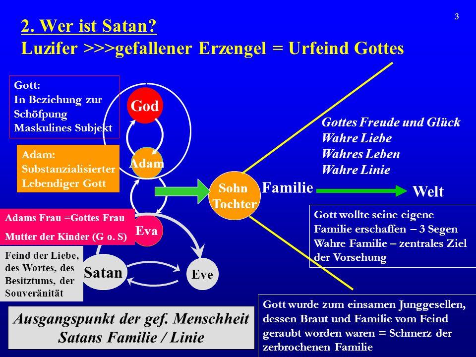 4 Urspr ü nglich hat Gott den Erzengel und den Menschen als ewige Wesen geschaffen.