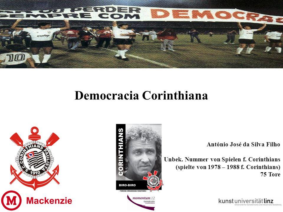 Democracia Corinthiana António José da Silva Filho Unbek.