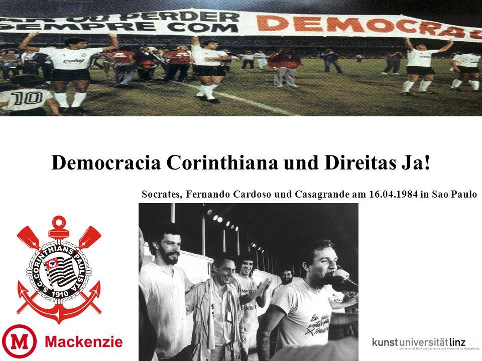 Democracia Corinthiana und Direitas Ja.