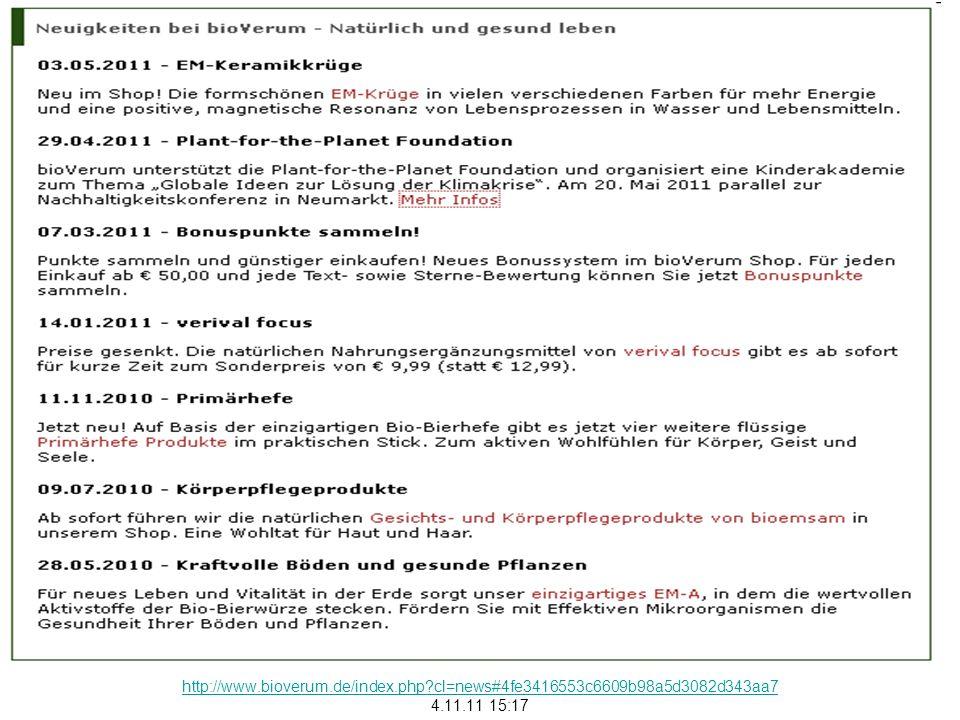Presseinformation bioVerum lädt Kinder zu nachhaltigem Denken und Handeln ein Gemeinsam mit der Plant-for-the-Planet Foundation veranstaltet bioVerum eine Kinder- Akademie zum Thema globale Ideen zur Lösung der Klimakrise In der Philosophie von bioVerum Natürlich und gesund leben steckt viel persönliche Überzeugung von Geschäftsführerin Hemma Ehrnsperger.