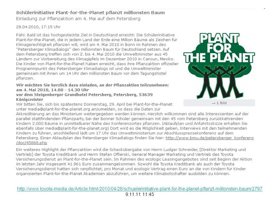 http://www.plant-for-the-planet.org/de/node/4281 9.11.11 12:13