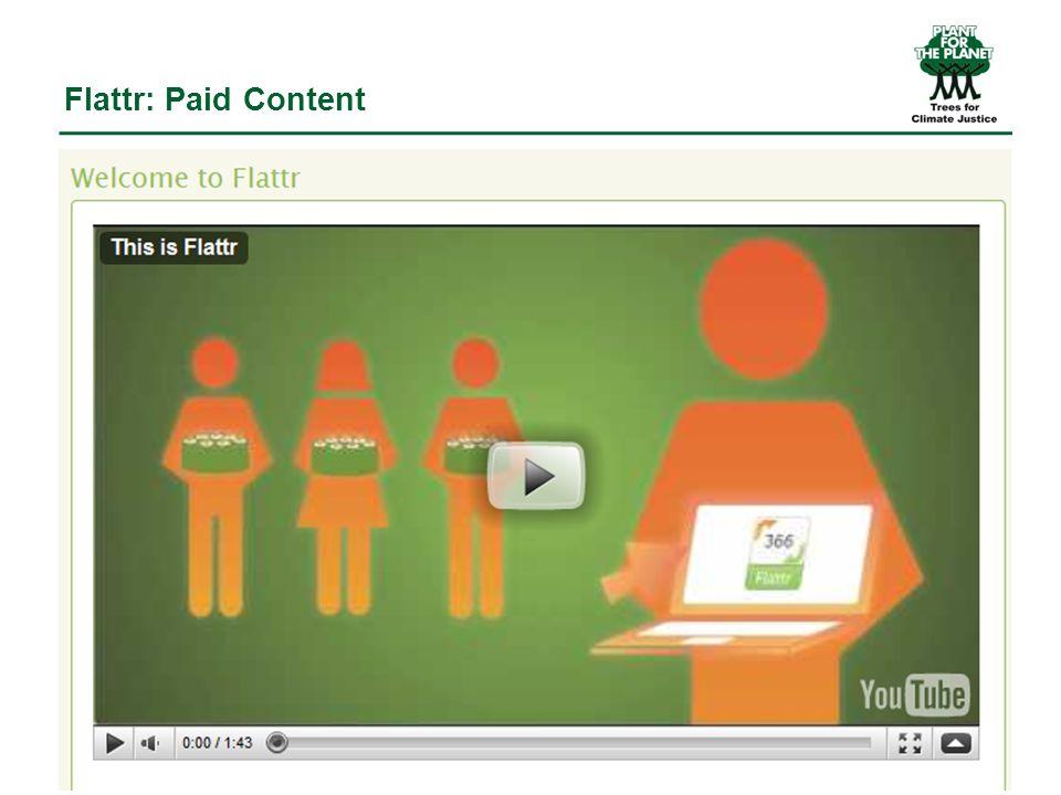 Flattr: Paid Content